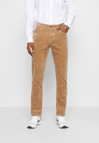 Solid - DRYDER - Trousers - beige - 0