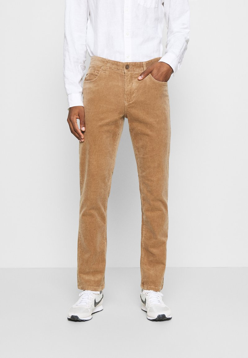 Solid - DRYDER - Trousers - beige