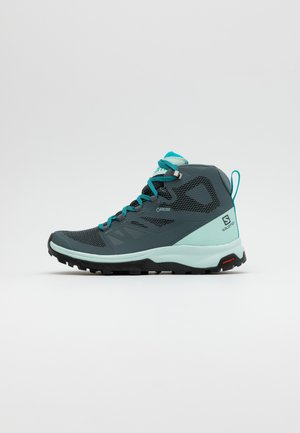 OUTLINE MID GTX - Chaussures de marche - stormy weather/icy morn/bluebird