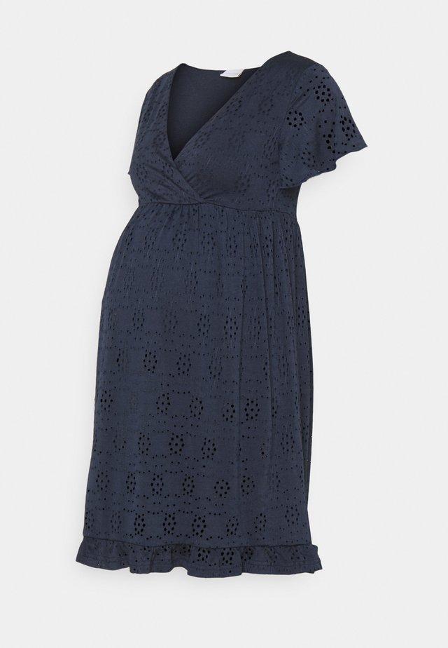 NURSING DRESS - Sukienka z dżerseju - navy blazer