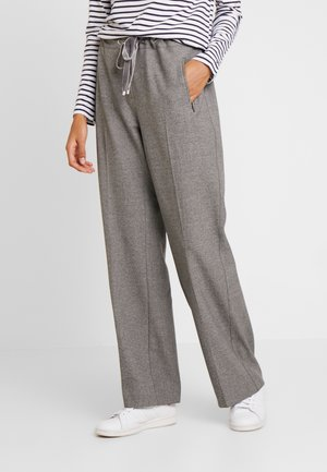 PEPPER - Trousers - beige meliert