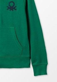 Benetton - Zip-up hoodie - green - 2