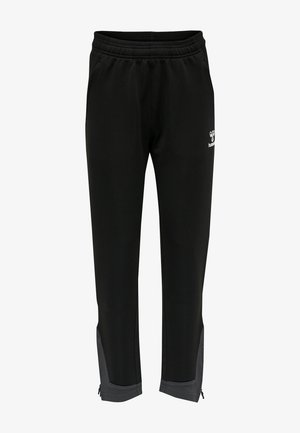 LEAD POLY - Tracksuit bottoms - black