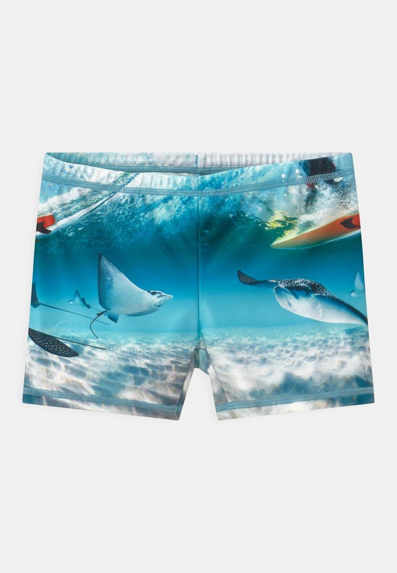 Molo - NORTON PLACED - Swimming trunks - multi-coloured/white