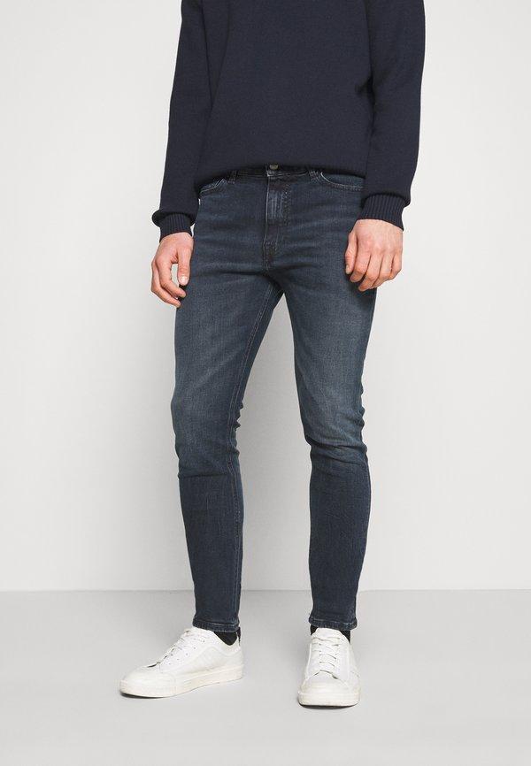 Tommy Jeans SIMON SKINNY - Jeansy Slim Fit - midnight dark blue/ciemnoniebieski Odzież Męska HQPP