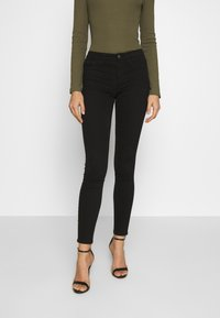 ONLY - ONLMIRINDA BASIC PANT - Jeans Skinny Fit - black - 0