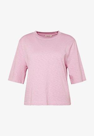 BOXY - Basic T-shirt - bleached berry