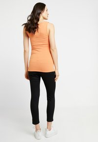 Cotton On - MID RISE MATERNITY  - Jeansy Slim Fit - black - 2
