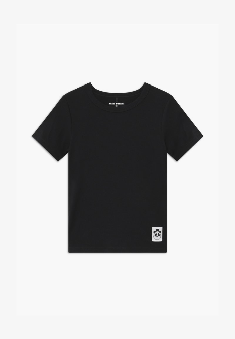 Mini Rodini - BASIC TEE - Basic T-shirt - black