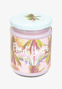Flamingo Candles - CANDLE - Duftlys - find your fire - palm print pink raspberry ripple - 0