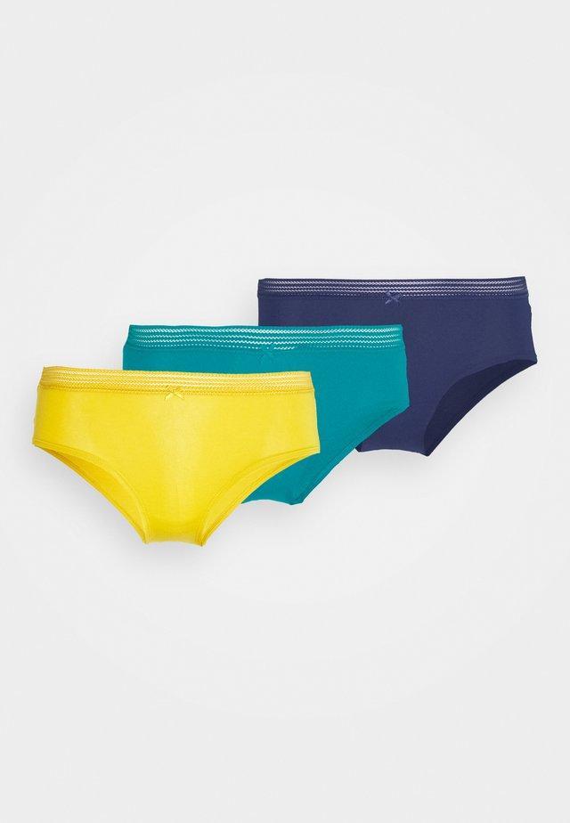 VICTORIA 3 PACK - Panties - vert sapin