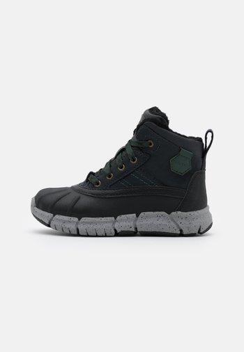 FLEXYPER BOY  - Winter boots - navy/dark green