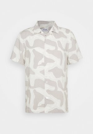 COFFEE TOPOGRAPHIC - Camicia - beige