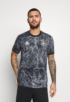 DFB Deutschland PRESHI - Oblečení národního týmu - black/grey three
