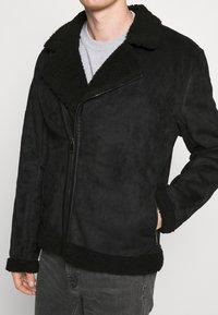 Nominal - AVIATOR  - Faux leather jacket - black - 6