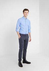 BOSS - REGULAR FIT - Trousers - blaugrau - 1