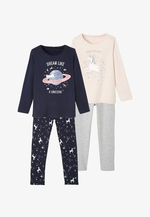 Pyjamas - blue/pink/grey