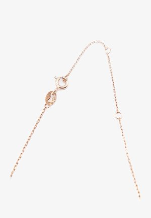 Necklace - rose gold-coloured