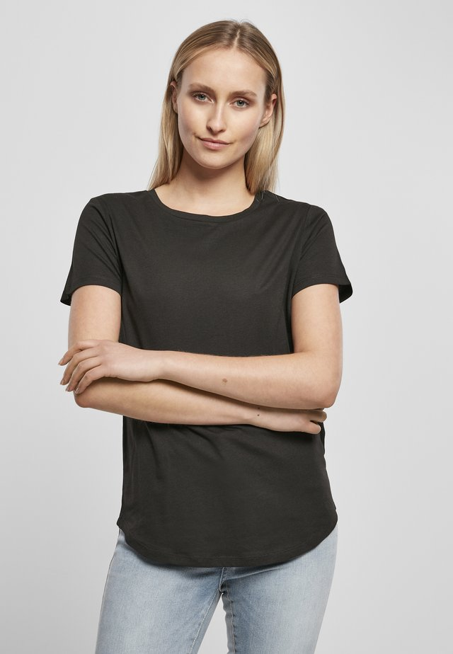 2-PACK - T-shirt basic - black/black
