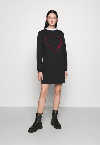 Day dress - cuore rosso