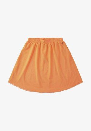 A-line skirt - power orange