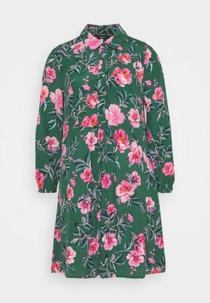 ATHENA - Shirt dress - green floral