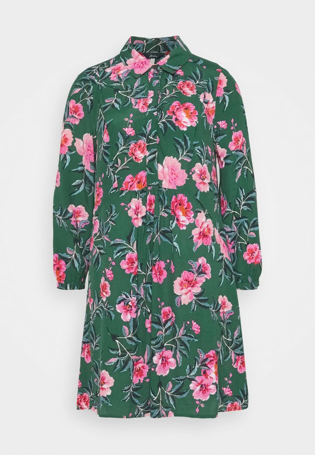 ATHENA - Robe chemise - green floral