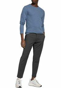 BOSS CASUAL - Long sleeved top - medium blue - 1