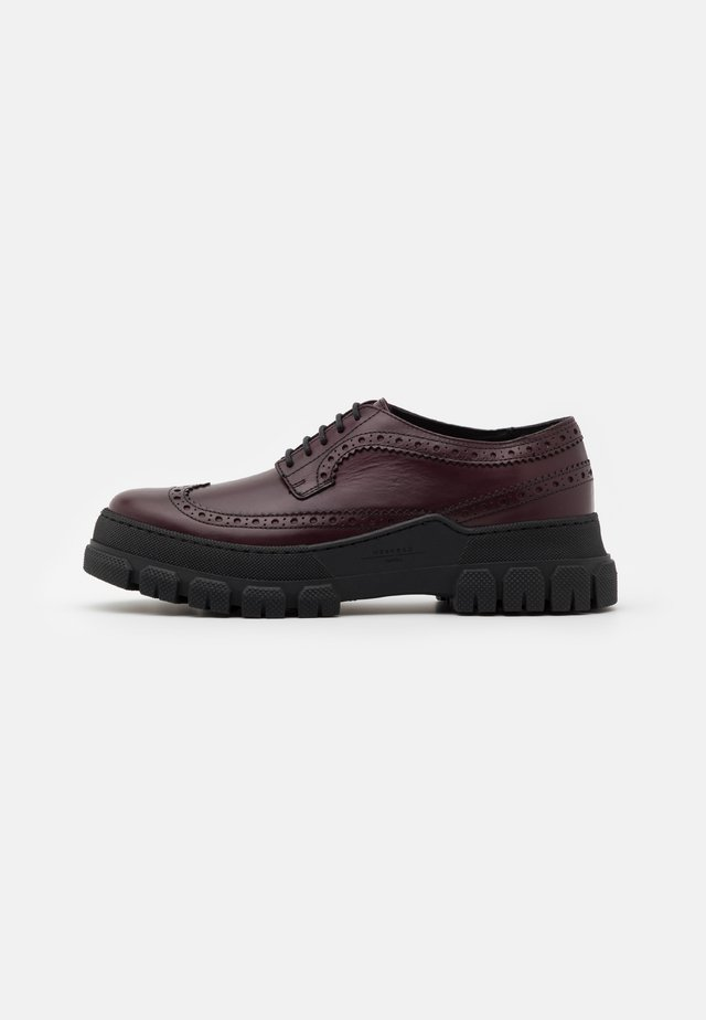 RIAD - Lace-ups - bordeaux
