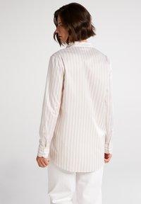 Eterna - Button-down blouse - beige/weiß - 1