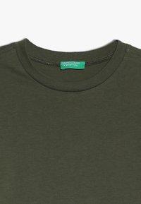Benetton - Long sleeved top - khaki - 4