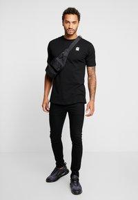 G-Star - KORPAZ LOGO - Print T-shirt - dark black - 1