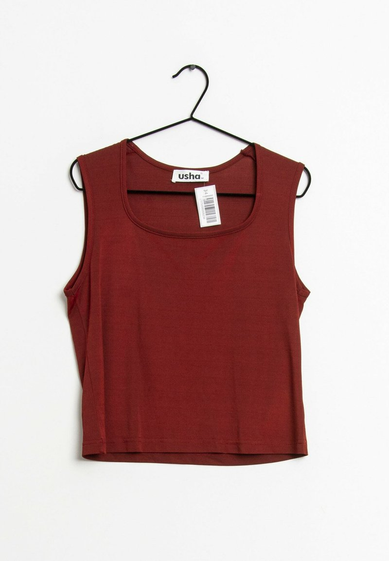 usha - Top - red