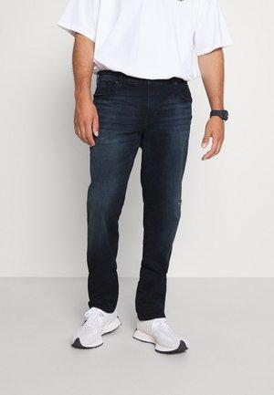 JJIGLENN JJICON - Straight leg jeans - blue denim
