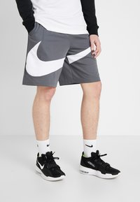 Nike Performance - DRY SHORT - Korte broeken - iron grey/white - 0