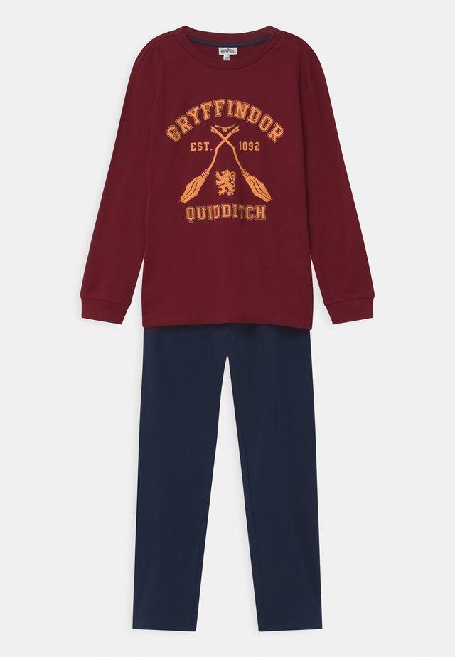 HARRY POTTER GRIFFINDOR - Pyžamová sada - rhubarb