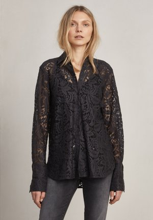REED - Button-down blouse - charcoal