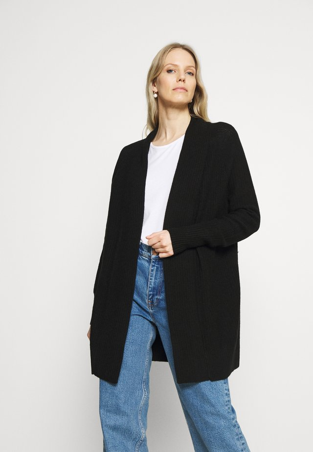 BROOKLYN CARDI - Cardigan - true black