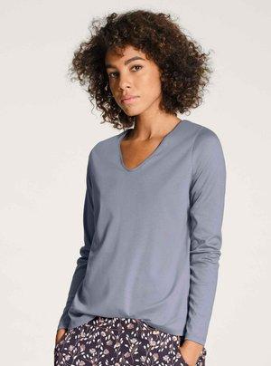 Pyjama top - blue granite