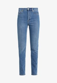 VICKY WASHED - Jeans Slim Fit - mid blue