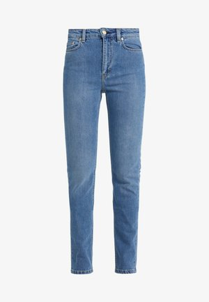VICKY WASHED - Jeansy Slim Fit - mid blue