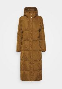 LUCY - Down coat - rust