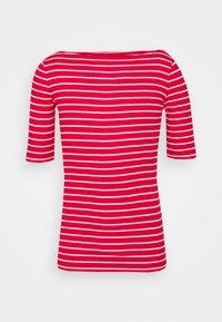 Gap Tall - BOATNECK - Print T-shirt - red/white - 0