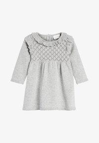 Next - Gebreide jurk - grey - 0
