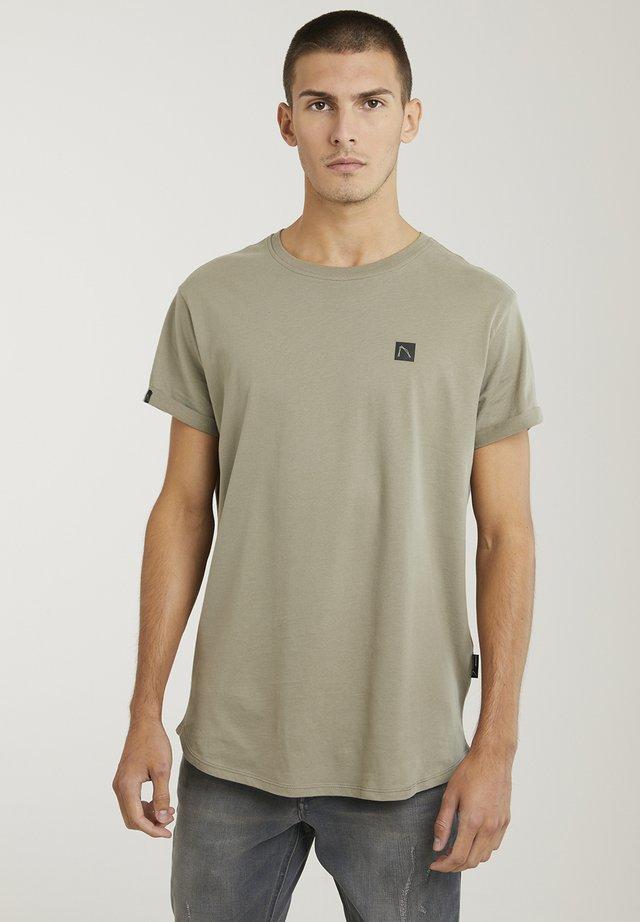 BRODY - Basic T-shirt - green