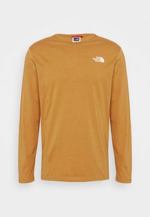 MENS EASY TEE - Longsleeve - tan