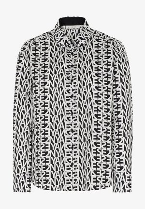 MODERN CLASSIC - Button-down blouse - schwarz/weiß