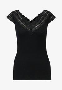 REGULAR WIDE - Print T-shirt - black