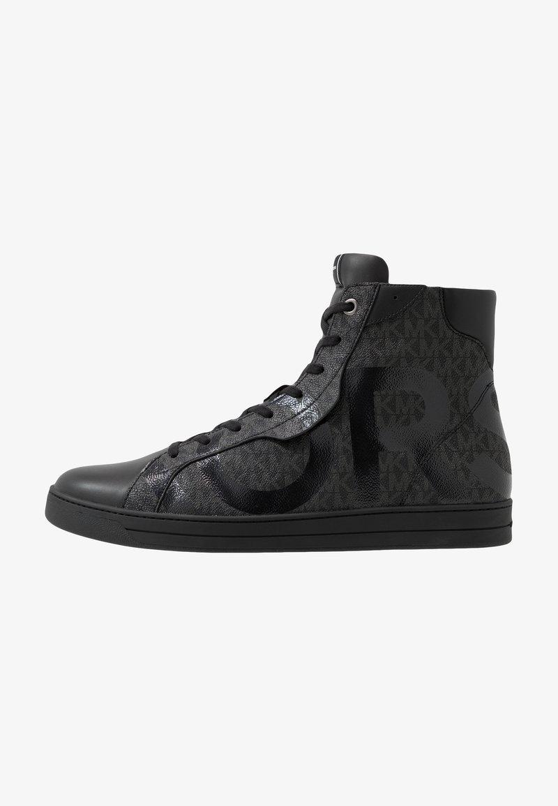 Michael Kors - KEATING TOP - Sneakers alte - black