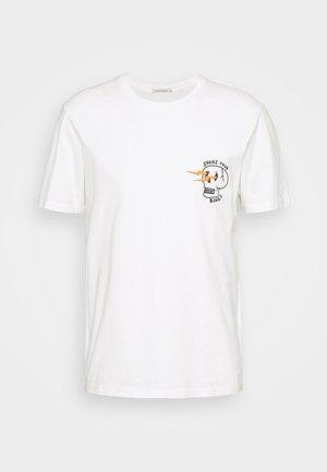 ROY - T-shirt con stampa - chalk white